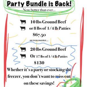 Hipwell Ranch Party Bundle Summer 2019