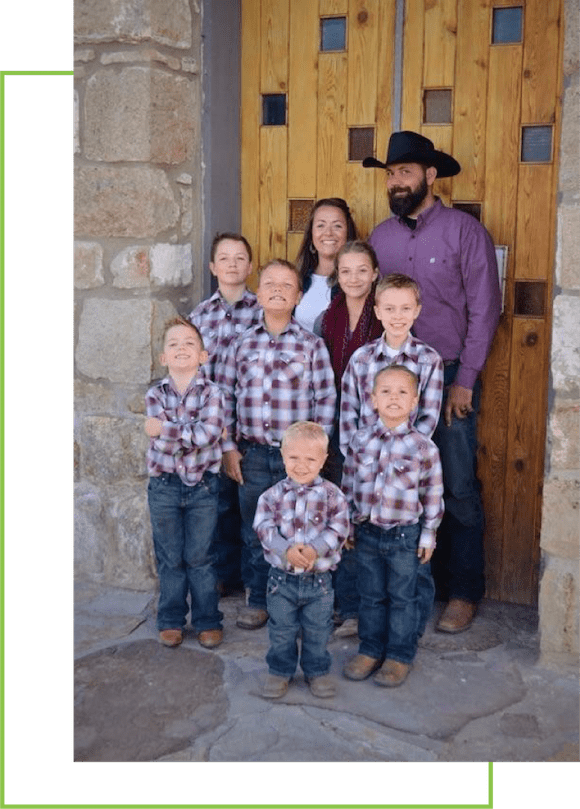 Hipwell Ranch Grass Fed Beef Boise Family Picture