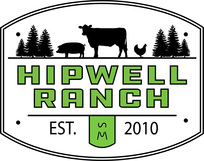 Hipwell Ranch all natural beef chicken and pork sales in Boise Idaho logo