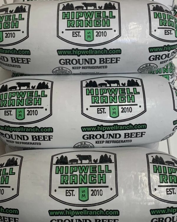 Hipwell Ranch ground beef packages